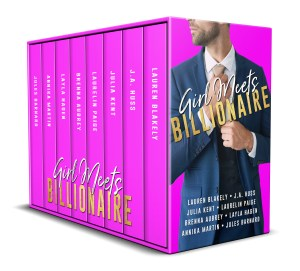 girl meets billionaire box set 3D cover