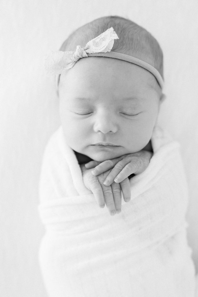 Newborn Closeup of Sahara | Brenna Heater Arizona Newborn Photographer