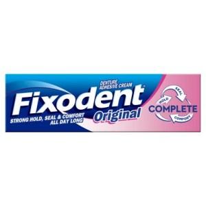 Fixodent Original Denture Adhesive Cream   Brennans Pharmacy