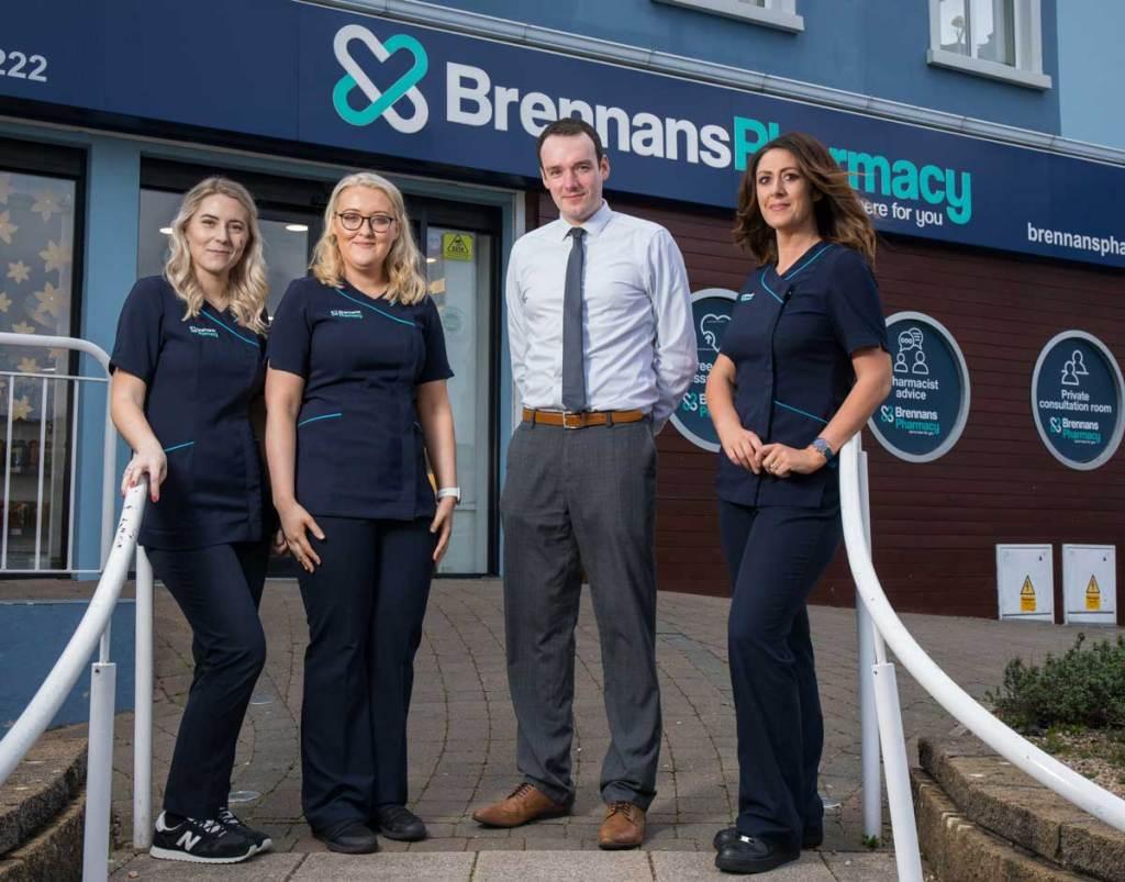 The Team at Buncrana Pharmacy   Brennans Pharmacy