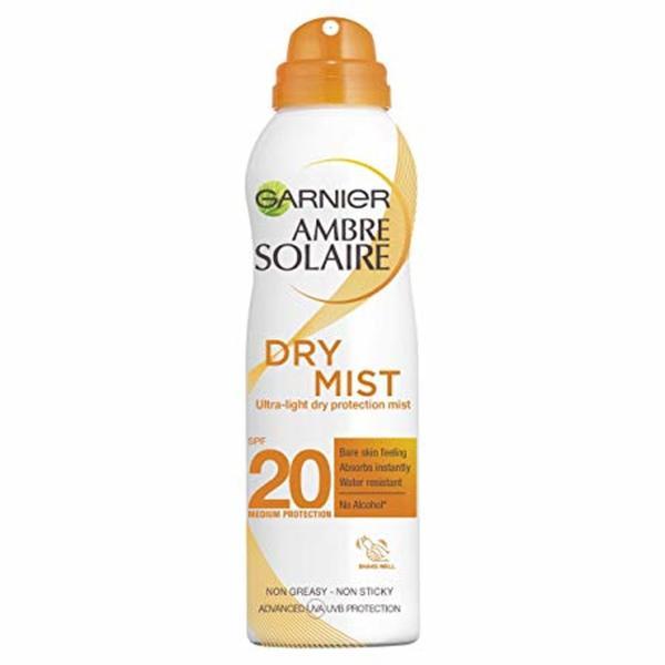 GARNIER AMBRE SOLAIRE DRY MIST SPF20 200ML