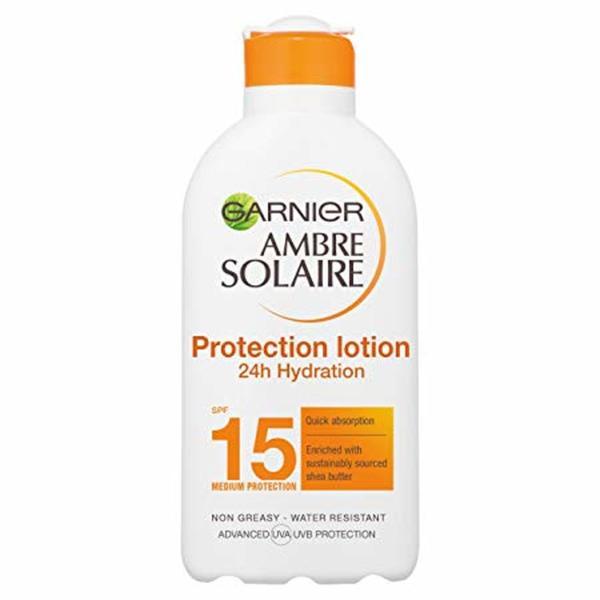 GARNIER AMBRE SOLAIRE HIGH PROTECTION MILK SPF15 200ML