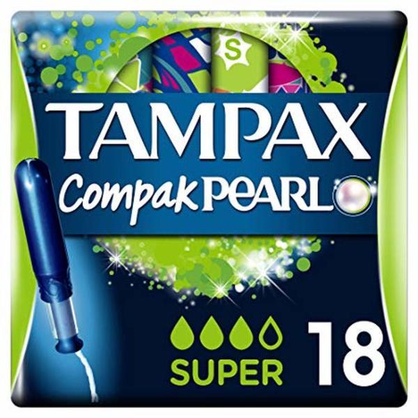 TAMPAX COMPAX PEARL SUPER (18's)