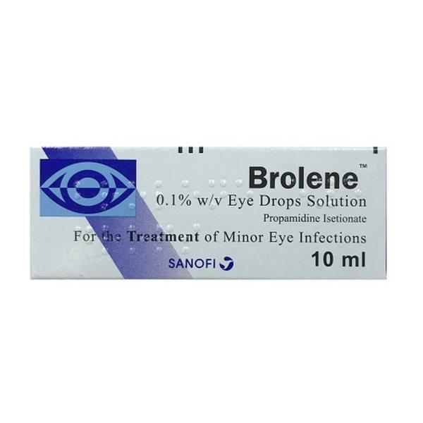 BROLENE 0.1% EYE DROPS SOLUTION 10ML