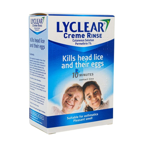 LYCLEAR CREAM RINSE 1% TWIN PACK