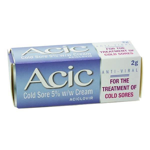 ACIC COLD SORE 5% CREAM 2G