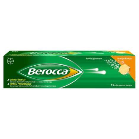 BEROCCA EFFERVESCENT TABS (15's)