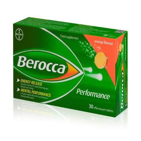 BEROCCA EFFERVESCENT TABS (30's)