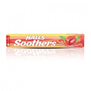 HALLS SOOTHERS PEACH RASPBERRY