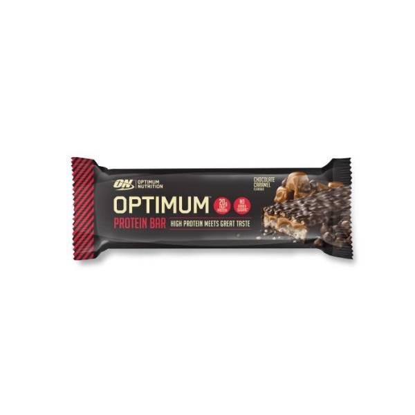 OPTIMUM PROTEIN BAR CHOCOLATE CARAMEL