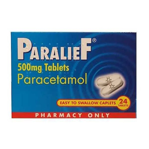 PARALIEF 500MG FC TABS 24TABS PH ONLY (24's)
