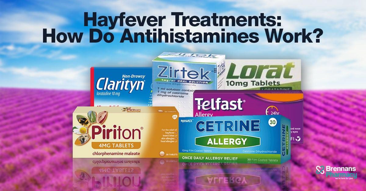 Antihistamines | Hayfever Treatments | Online Pharmacy