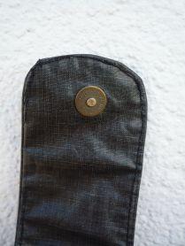 Brennender Schuh - Magnet-Taschenverschluss