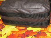 Brennender Schuh - Kameratasche verstärkter Boden mit Gurten