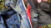 Reißverschluss Jackenerweiterung Regenjacke Winterjacke mit herausknöpfbarem Felleinsatz für Babytrage