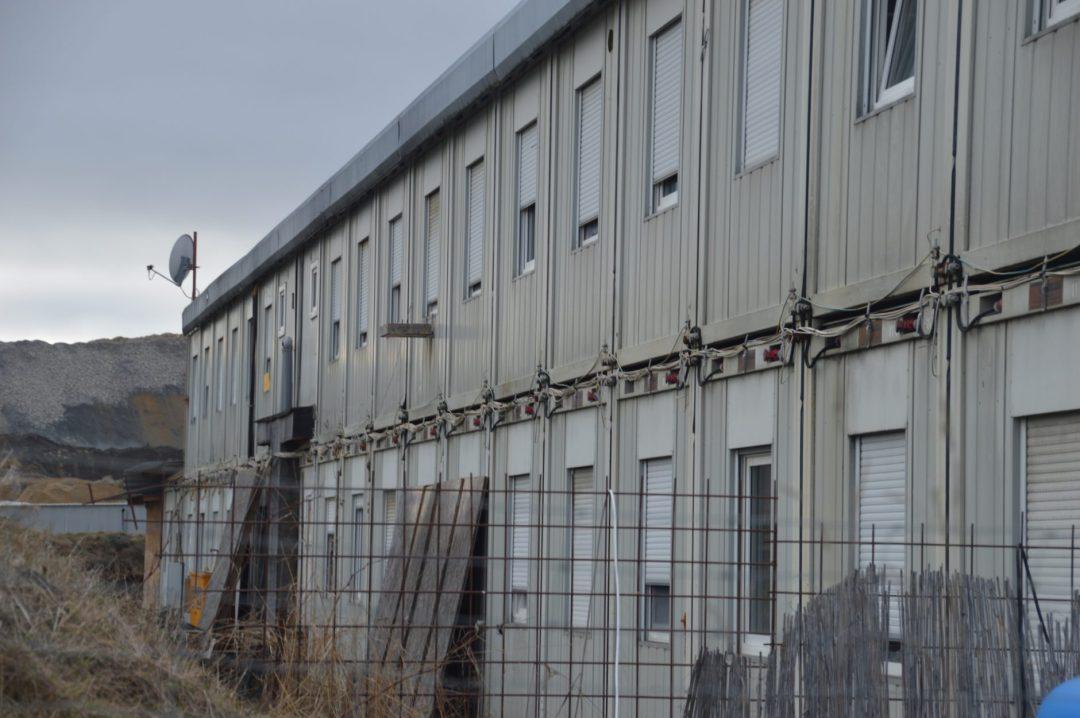 Containerstadt für Arbeiter