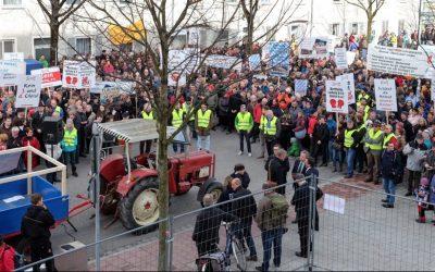 Verkehrsminister kommt: Demonstrationen und Verkehrschaos erwartet