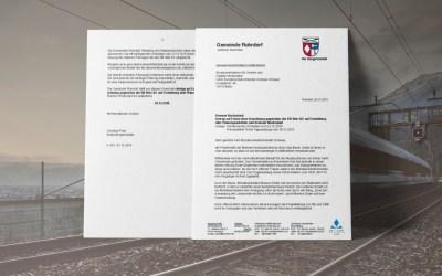 Rohrdorf stellt Antrag auf Einstellung aller Planungsarbeiten bei Verkehrsminister Scheuer