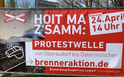 Bürgerinitiativen ziehen weiter an einem Strang: Aufstand in Rosenheim gegen zweites Stuttgart 21 im Inntal