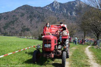 Protest in Nussdorf gegen den Brenner-Nordzulauf. Quelle: Maresa Jung