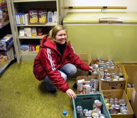 2010 Food Shelf Donation