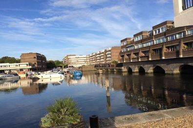 Brentford-Dock-Marina-View-from-Lock