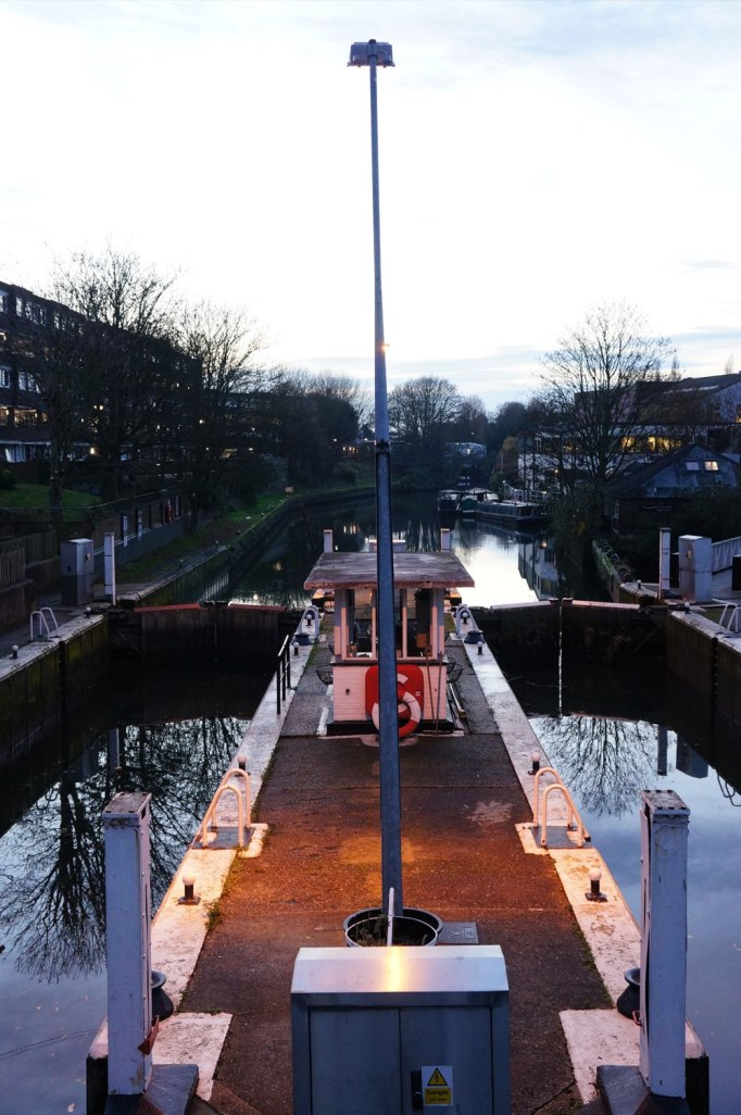 Brentford Dock lock gates