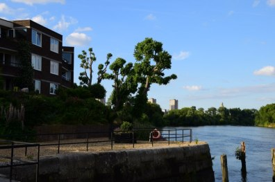 Brentford Dock riverside