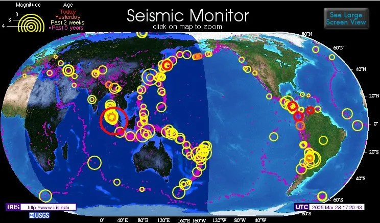 8.7 Indian Ocean Earthquake