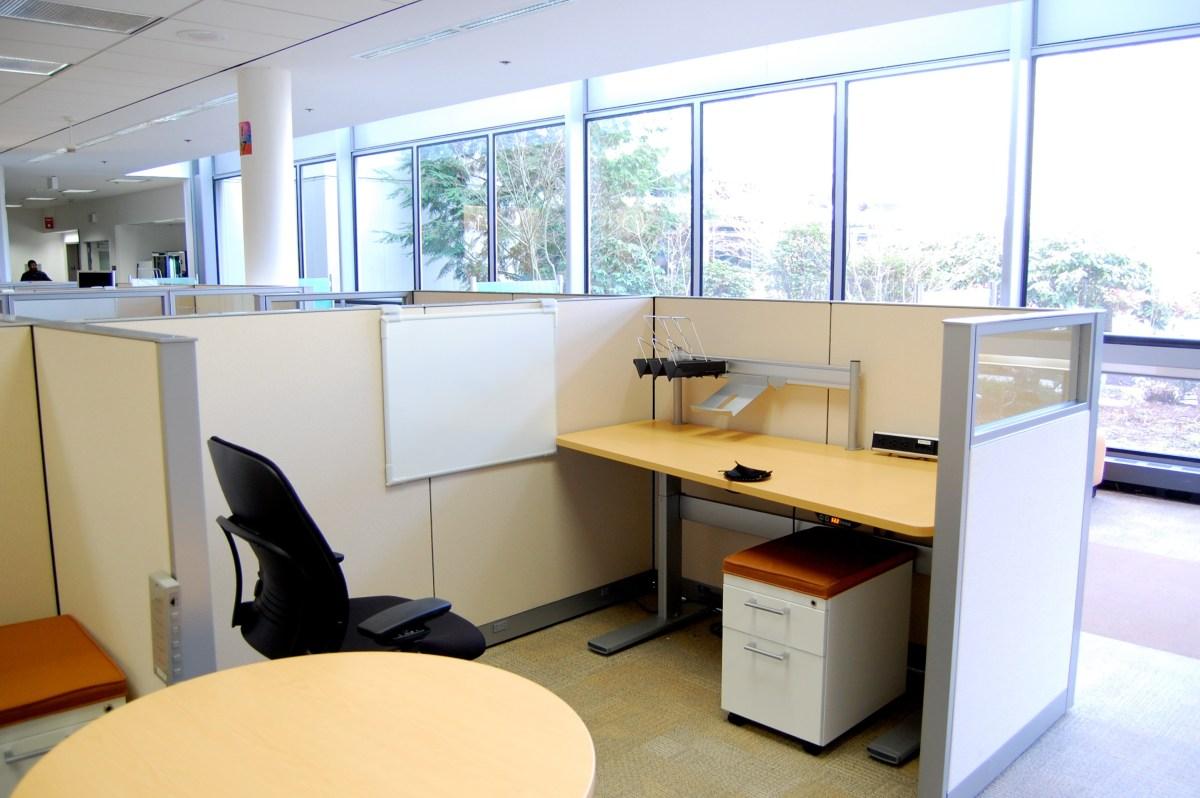 My New Cube/Desk