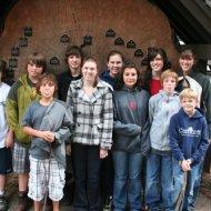 Cousins: Justin, Clay, Todd, Trent, Melissa, Sami, Mckenzie, Heather, Jamison, Ethan (front), and Ashley