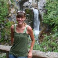 Ashley at Christine Falls