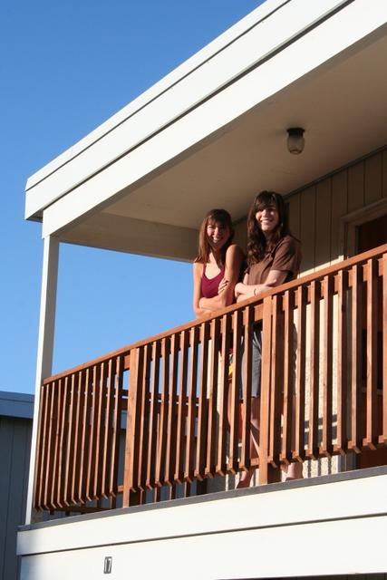 Ashley and Heather