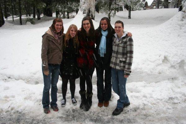 Ashley, Rachel, Heather, Bethany, and Melissa