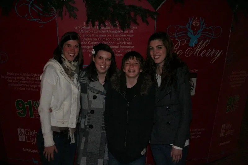 Ashley, Melissa, Jamison, and Heather