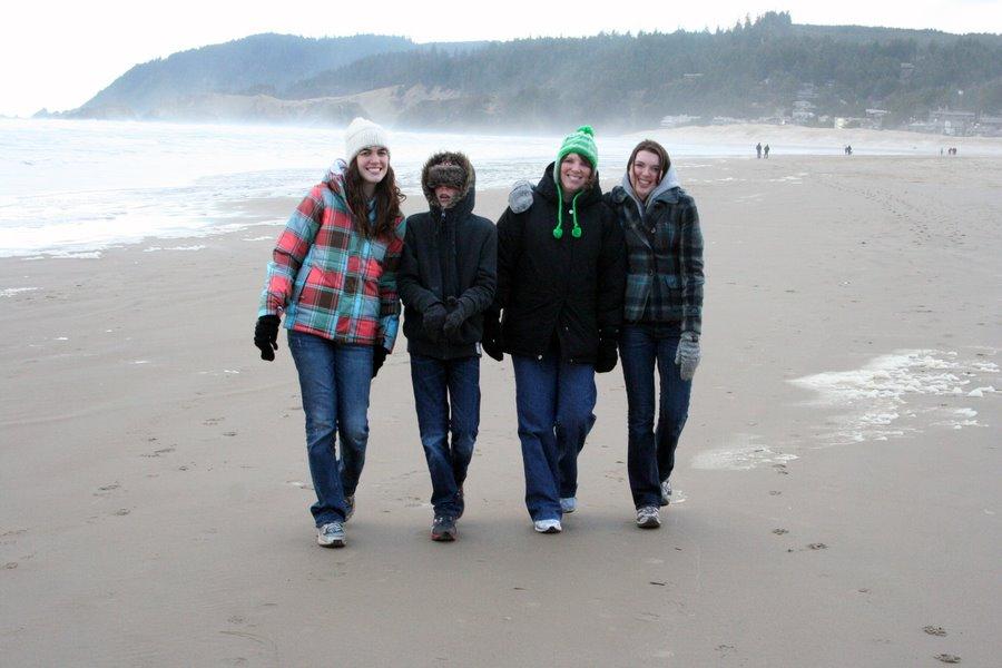 Heather, Jamison, Suzi, and Melissa