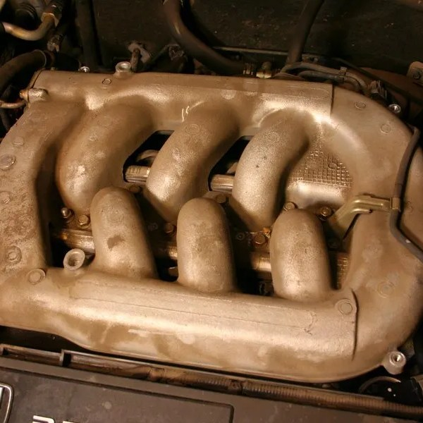 Intake manifold -- this needs removed and cleaned
