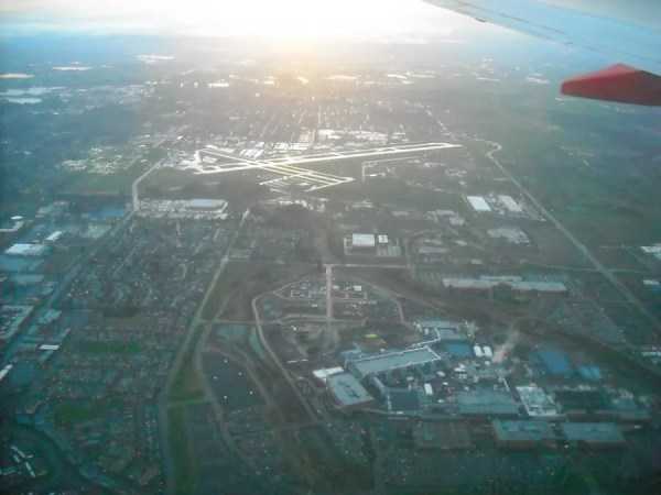 Hillsboro Airport and Intel's RA, JF, and HF Campuses