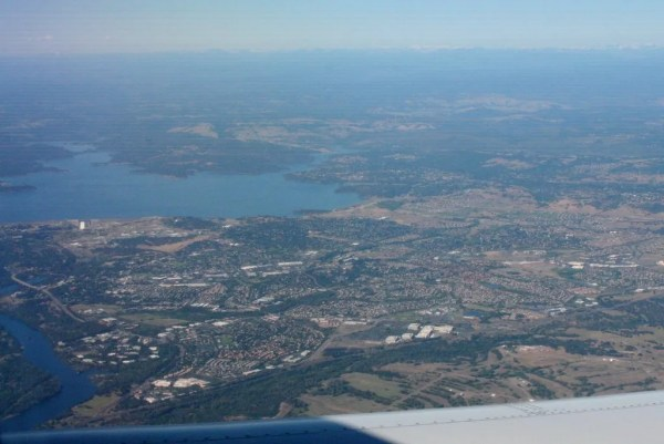 Folsom from the Air