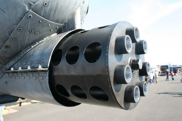 Business end of an A-10
