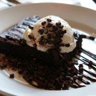 Jamison's chocolate truffle cake