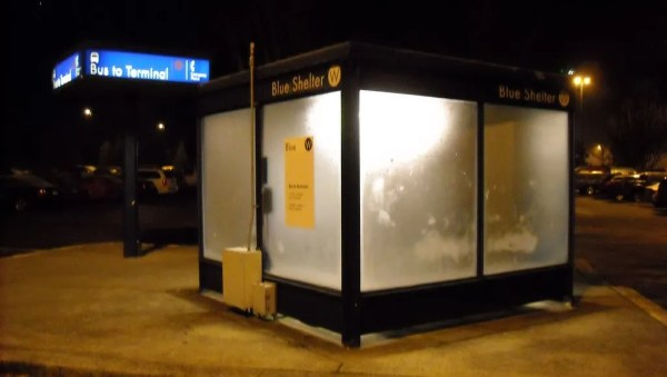 Bus Shelter W