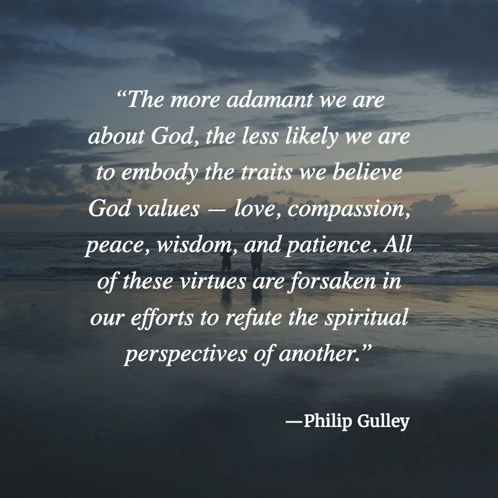 Philip Gulley on Traits God Values