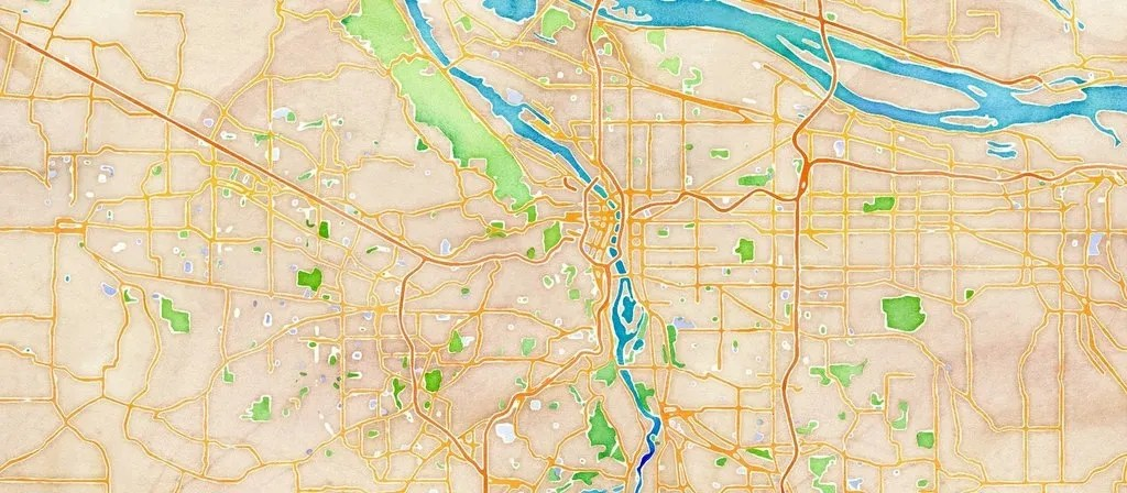 Stamen Design's Watercolor Maps