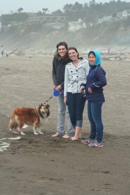 Heather, Melissa, and Yuna