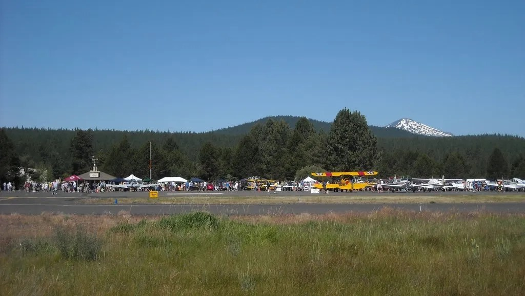 The Sunriver Airport hosted a fly-in today