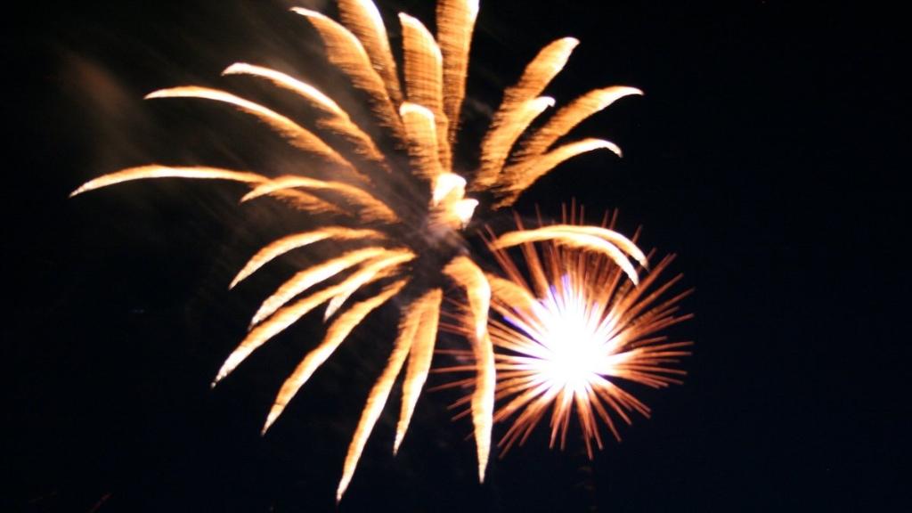 Fireworks in Banks 2012