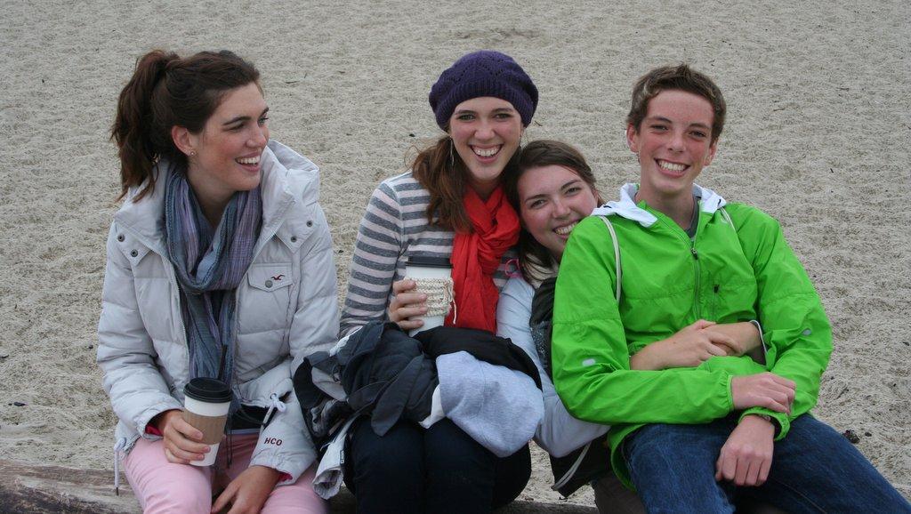 Heather, Ashley, Melissa, and Jamison