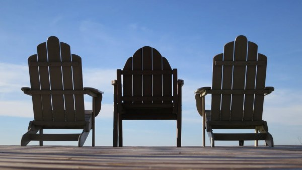 Chairs at the beach