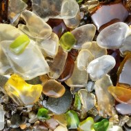 Glass Beach at Fort Bragg, CA